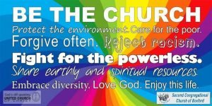 Be the Church -Banner